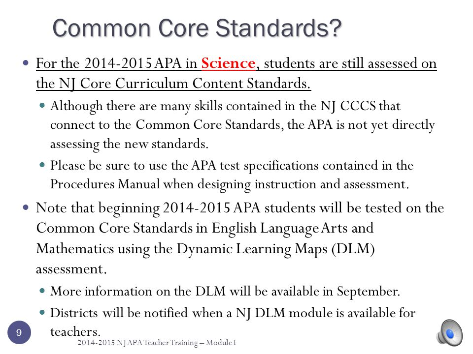 What is the Purpose of the APA.