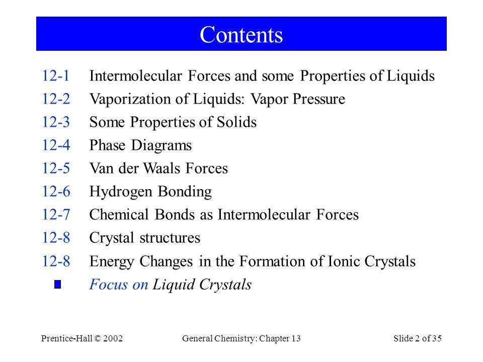 Prentice-Hall © 2002General Chemistry: Chapter 13Slide 33 of 35 Other Carbon Allotropes