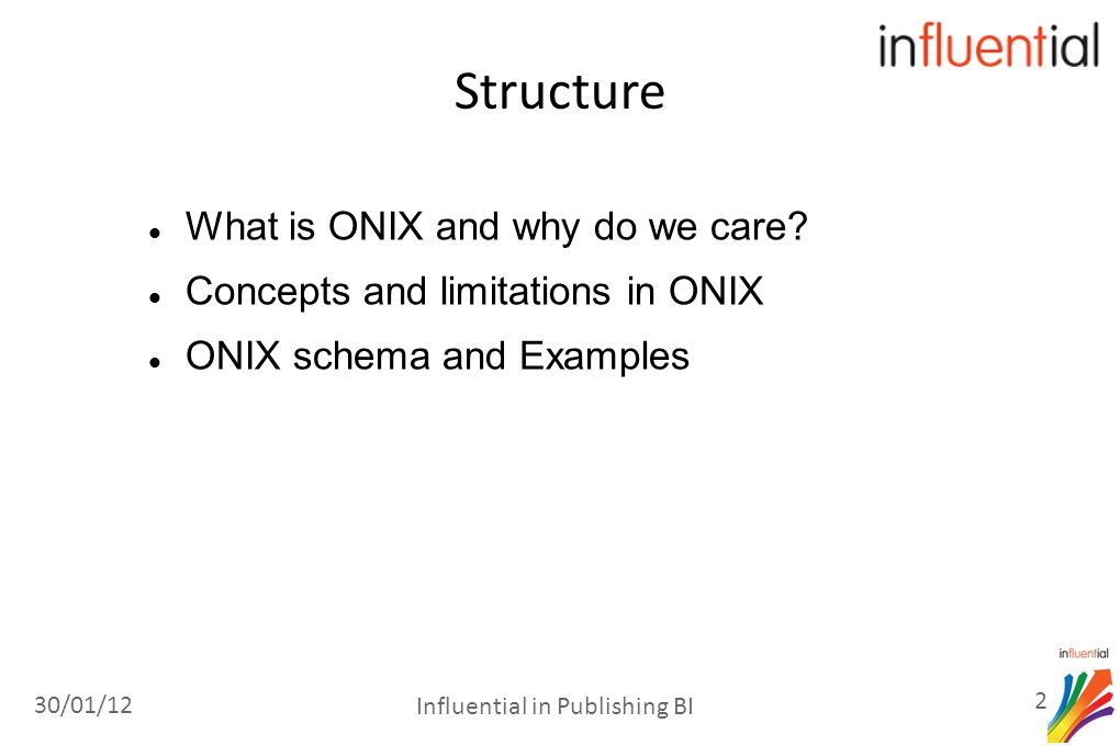 What is ONIX and why do we care.