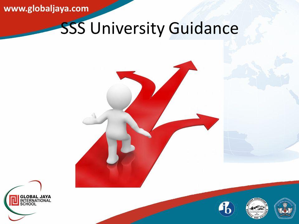 SSS University Guidance