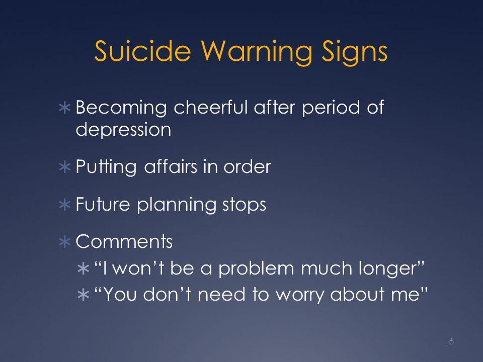 Biological Basis of Depression 7