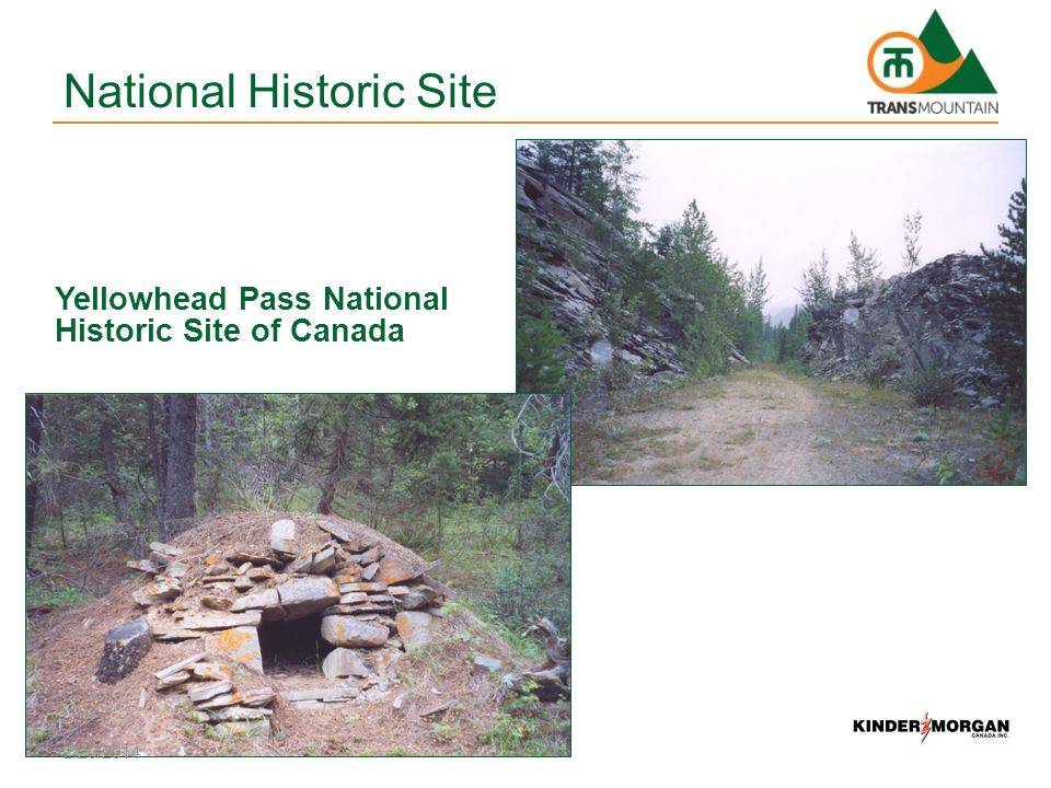 Yellowhead Pass National Historic Site of Canada National Historic Site 2/20/2014