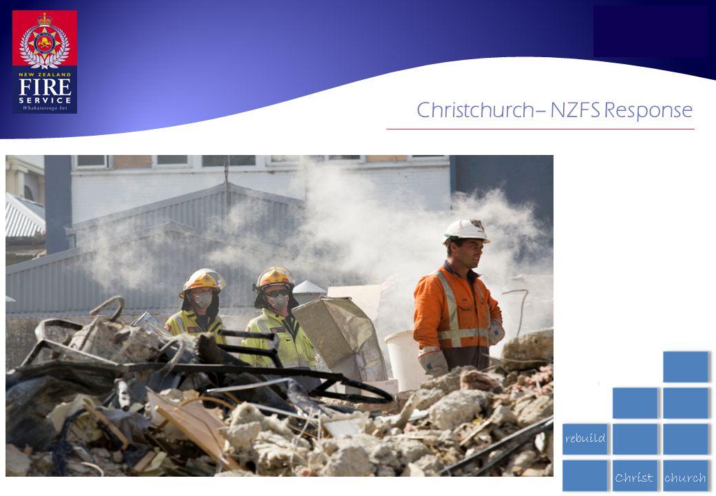 Christchurch– NZFS Response