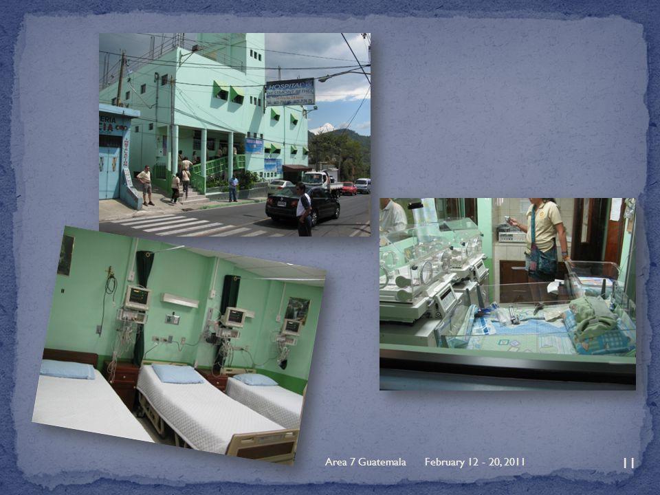 February 12 - 20, 2011Area 7 Guatemala 11