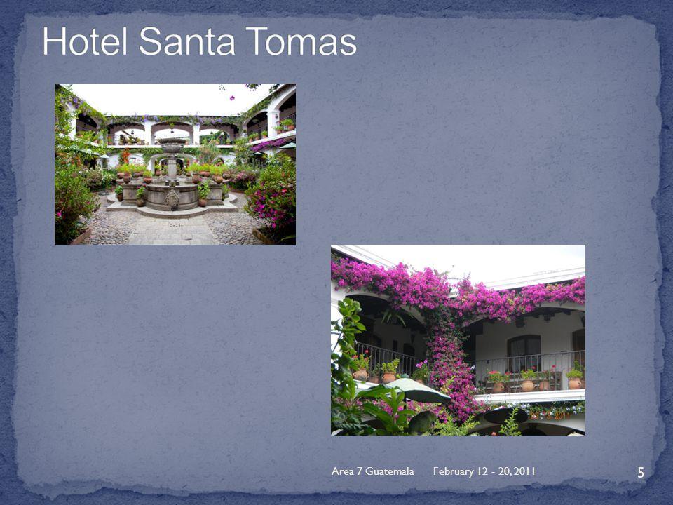 February 12 - 20, 2011Area 7 Guatemala 5