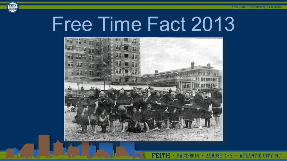 Free Time Fact 2013