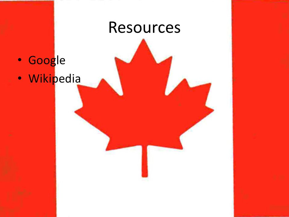 Resources Google Wikipedia