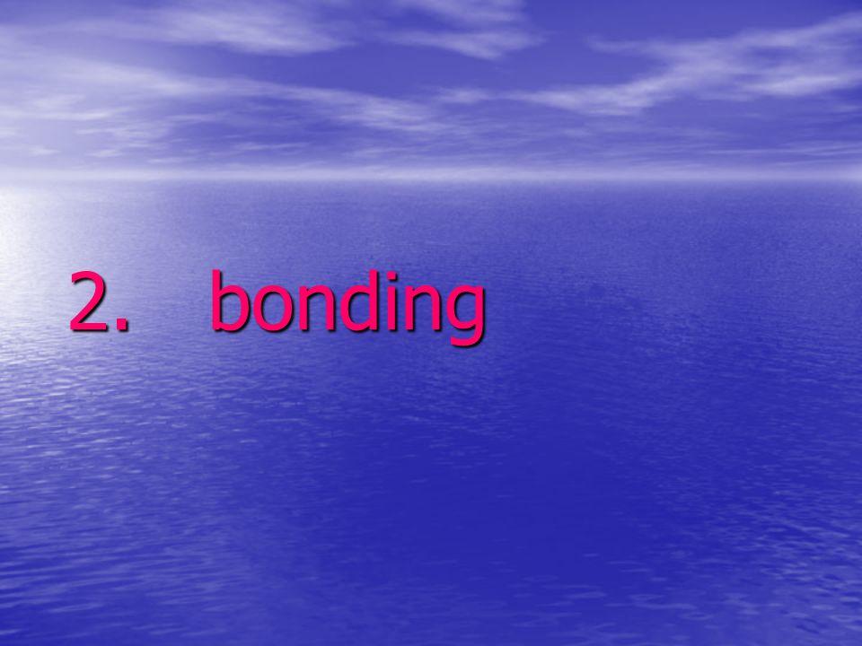 2. bonding