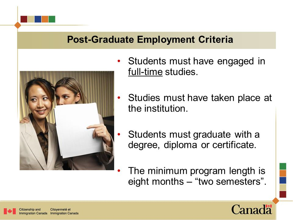 Students must apply within exactly 90 days of notification that they have met requirements of their program.
