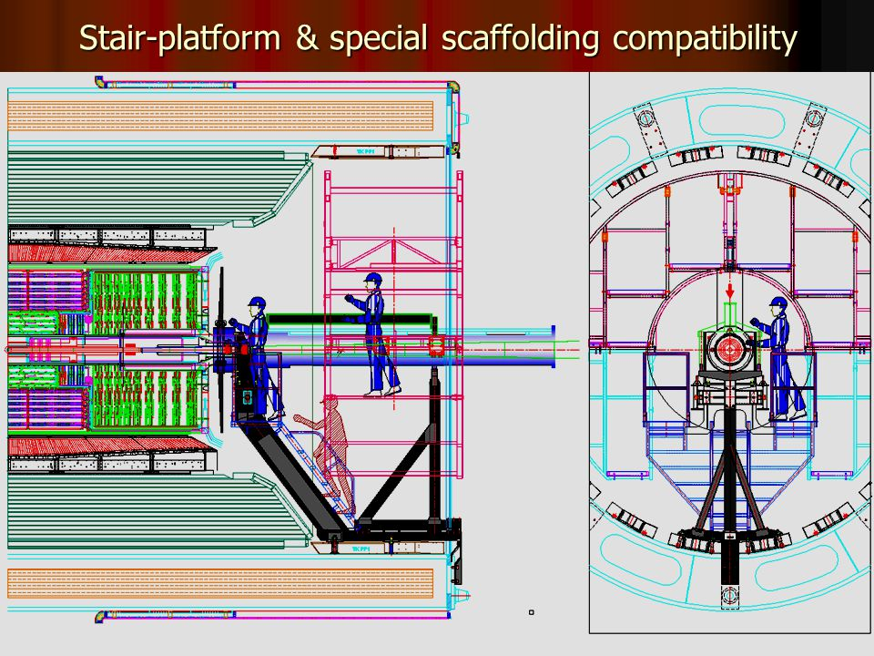 28 Stair-platform & special scaffolding compatibility