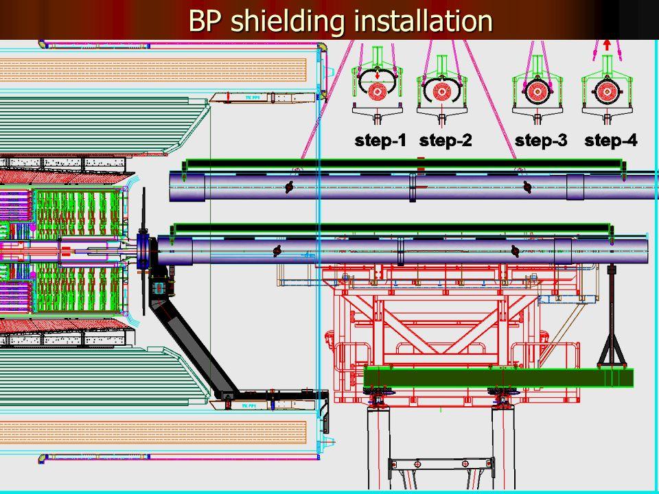 33 BP shielding installation
