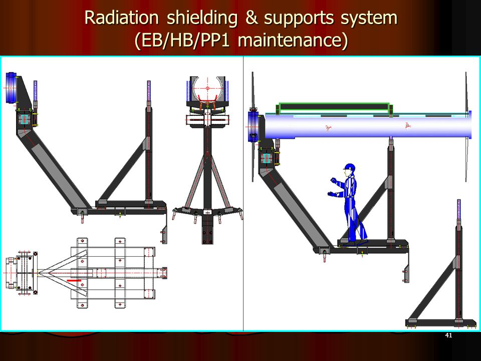 41 Radiation shielding & supports system (EB/HB/PP1 maintenance)