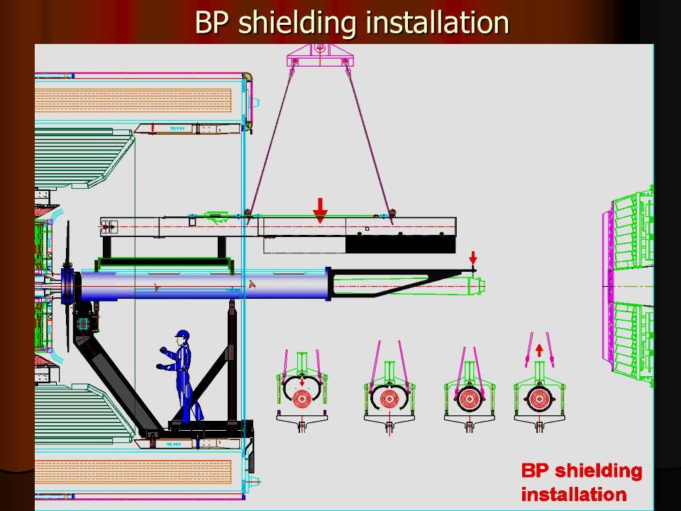 42 BP shielding installation
