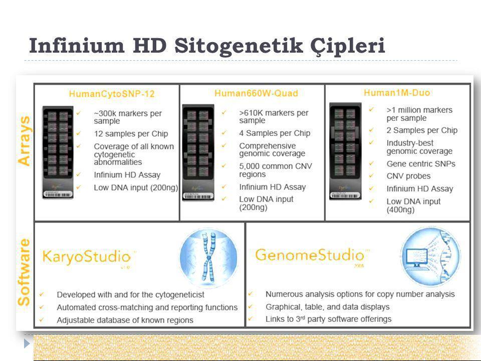 Infinium HD Sitogenetik Çipleri