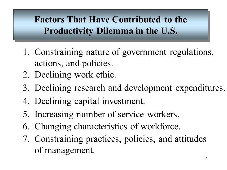 4 Productivity Improvement Program Is an effective way for an organization to increase its productivity.