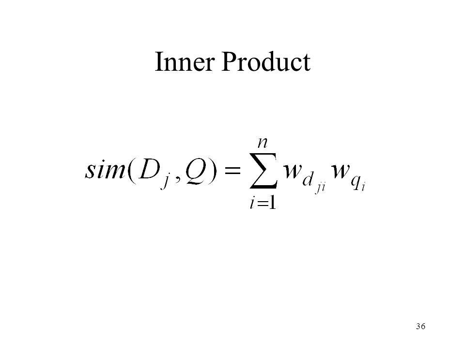 36 Inner Product