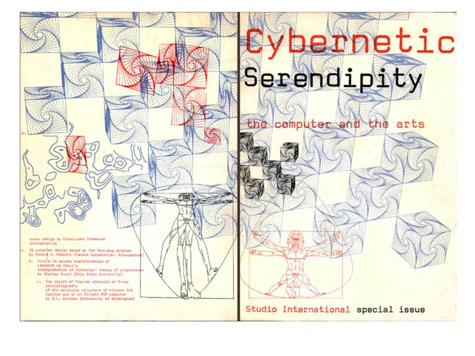 Roy Ascott - Cybernetics, Interactivity, and Art When art is a form of behaviour, software predominates over hardware in the creative sphere.