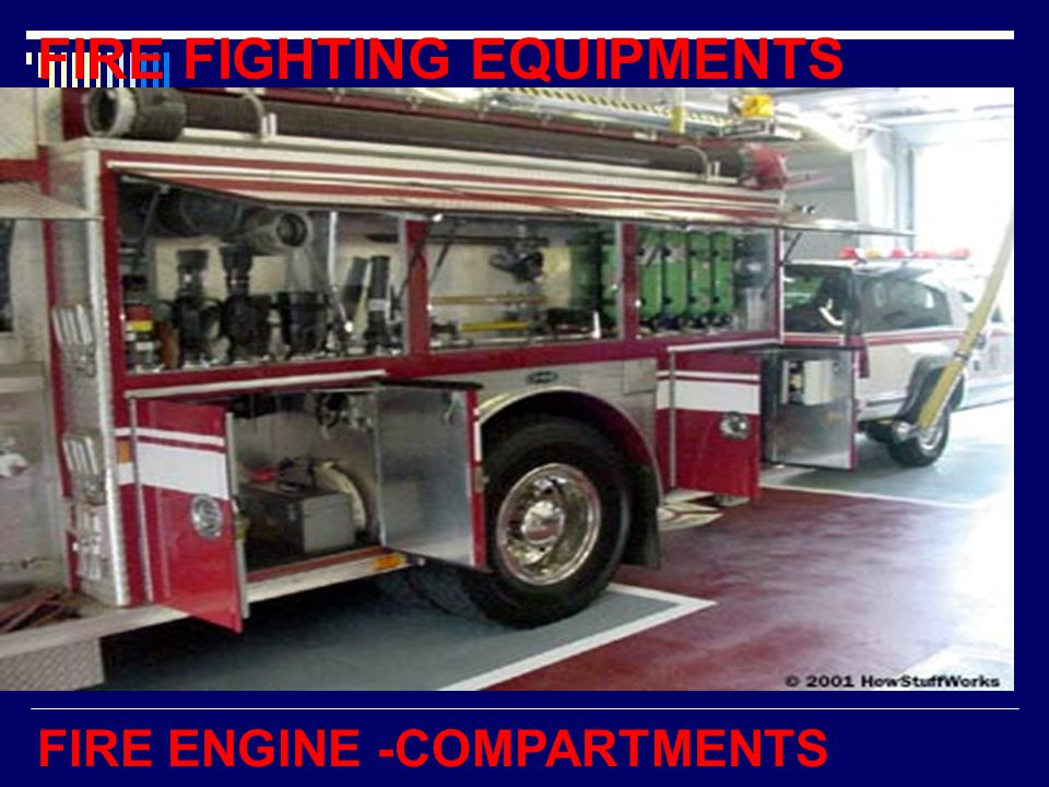 FIRE ENGINE -COMPARTMENTS