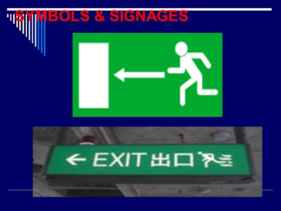 SYMBOLS & SIGNAGES