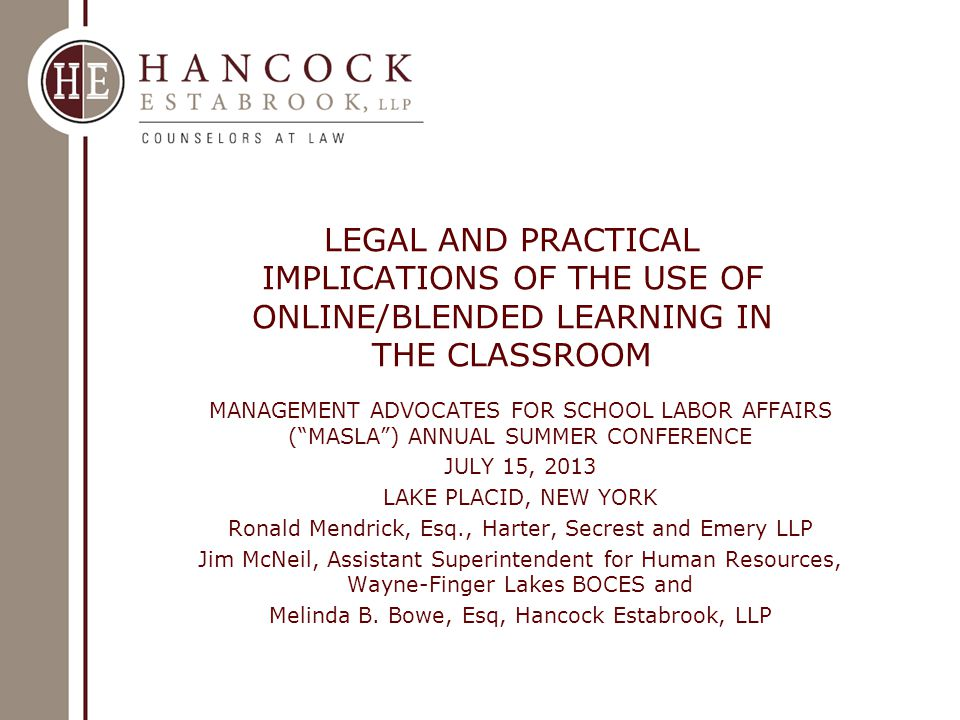 ONLINE/BLENDED LEARNING IN THE CLASSROOM NYSED's Professed Commitment to the Use of online/Blended Learning in Classroom  SED's Office of Curriculum, Assessment, and Educational Technology's Educational Design and Technology program office  SED's website entitled Online and Blended Learning in New York State states that it has launched a statewide virtual learning initiative to support the growth of effective online and blended instruction 2