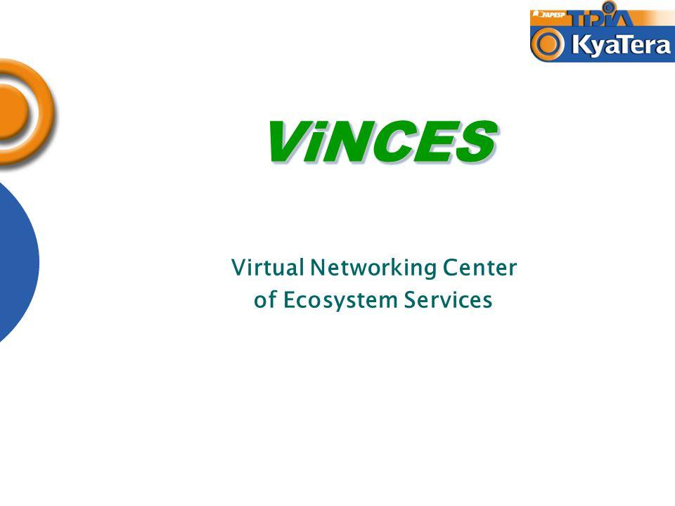 ViNCESViNCES Virtual Networking Center of Ecosystem Services