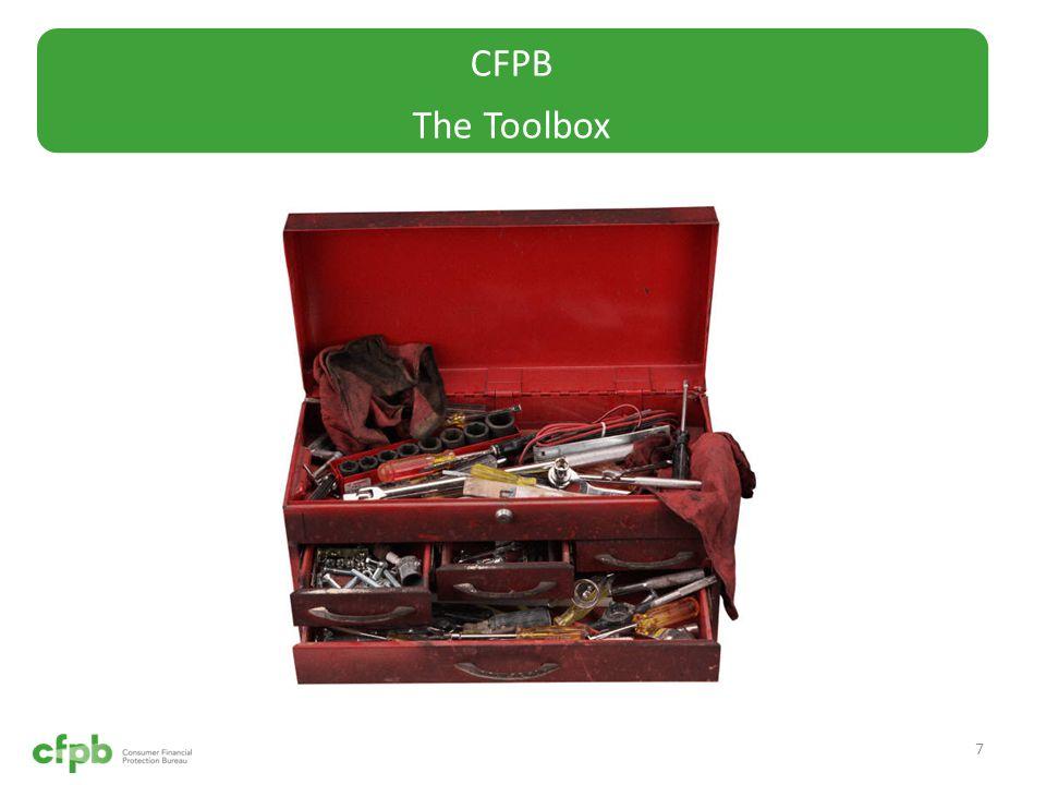 CFPB The Toolbox 7