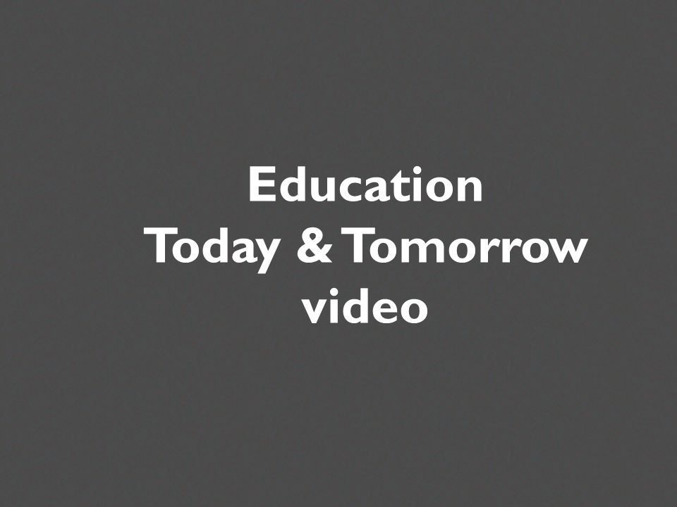 Three Musketeers Education Today and Tomorrow Or other media Education Today & Tomorrow video