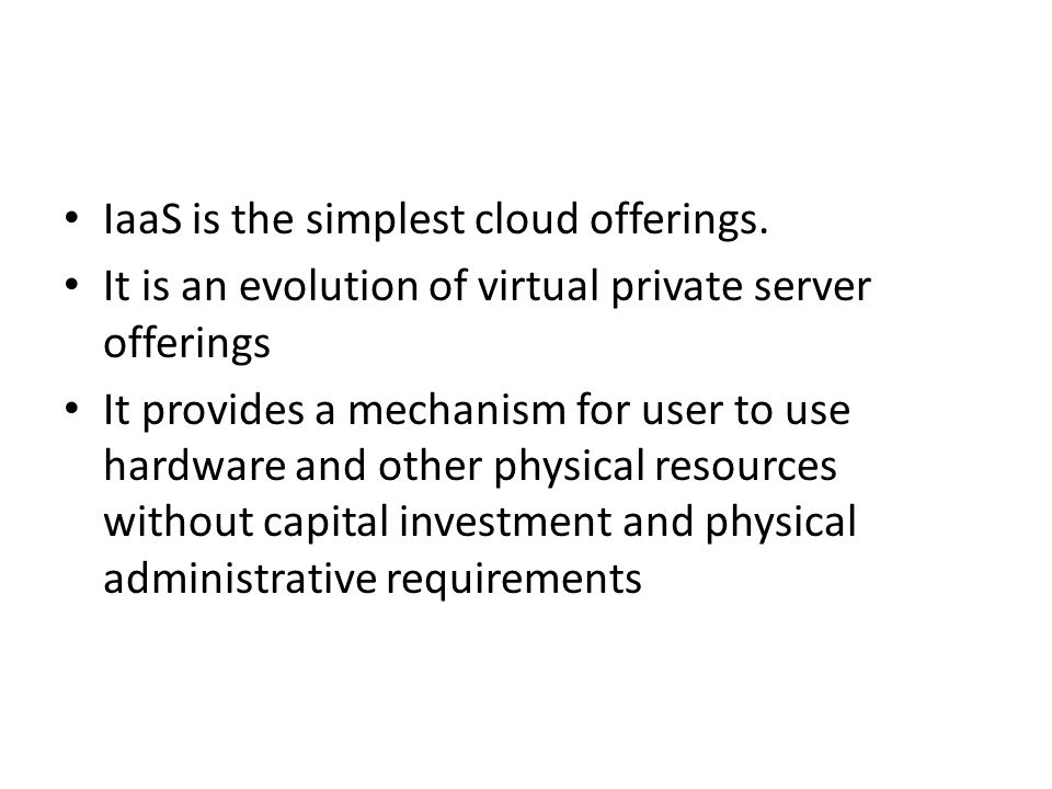 Network virtualization - virtual local area networks (VLANs): segment traffic and provide a degree of isoloation by compartmentalizing the network - virtual private networks (VPNs): create a secure connection between cloud entities and end users.