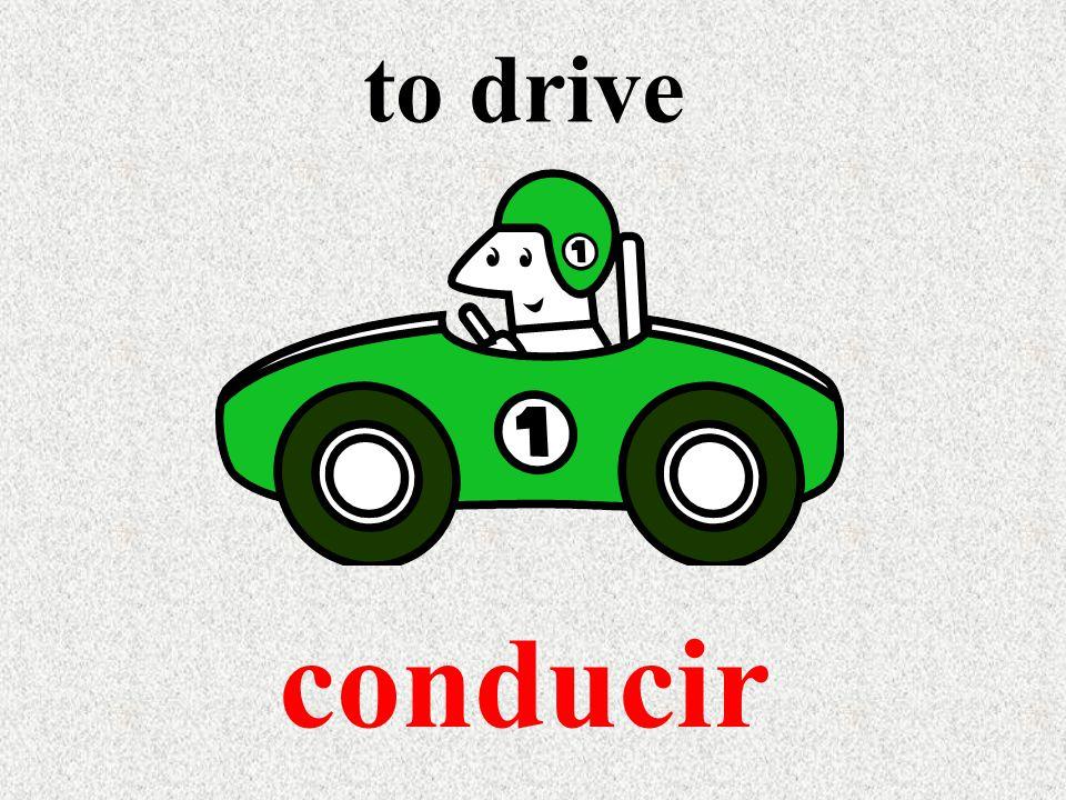 to drive conducir