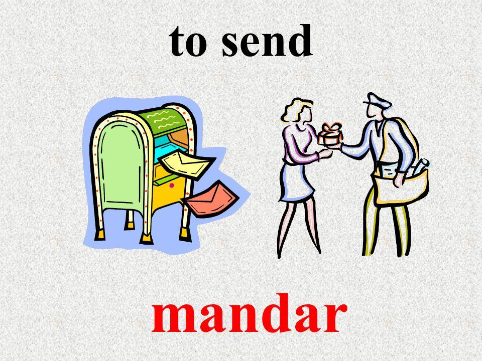 to send mandar