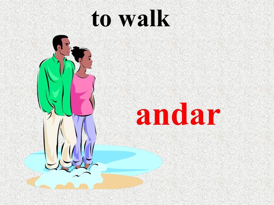 to walk andar