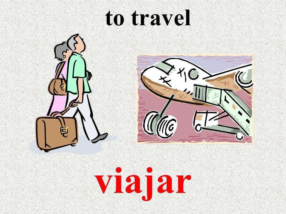 to travel viajar