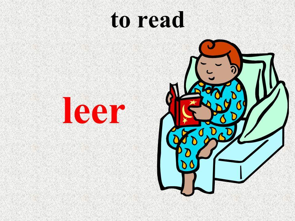 to read leer