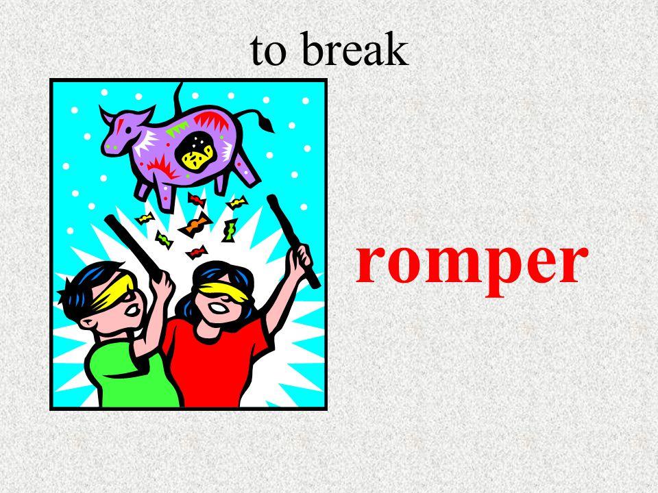 to break romper