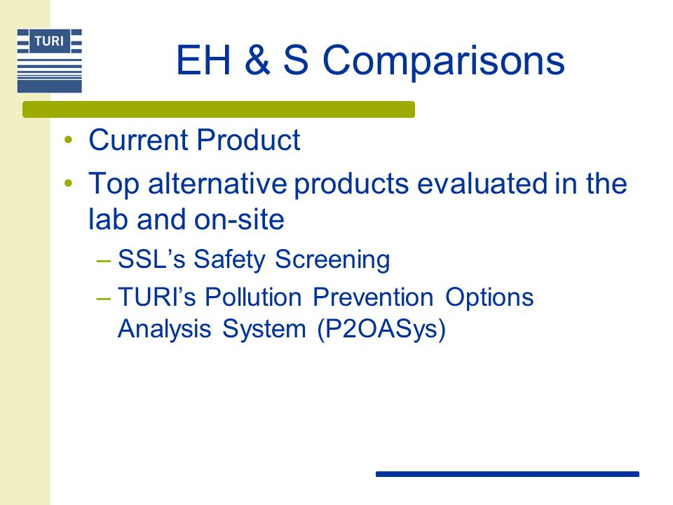 Evaluate EH&S