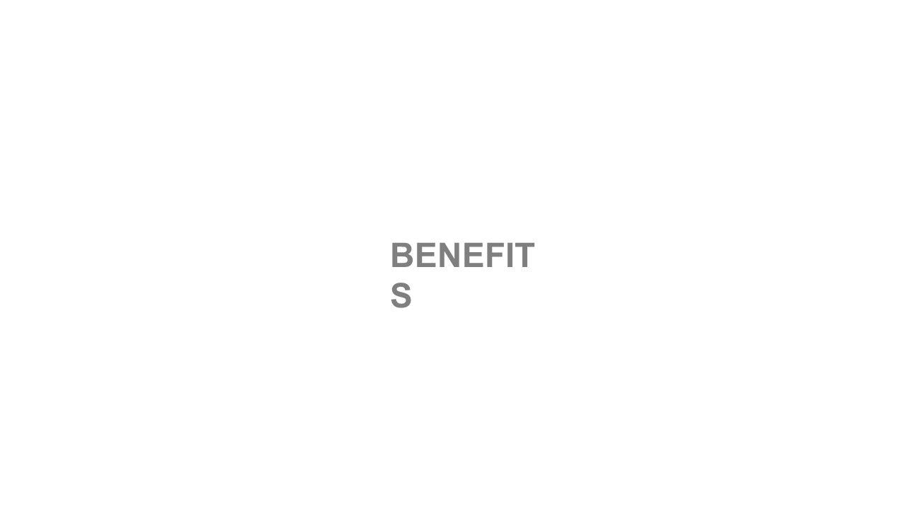 BENEFIT S