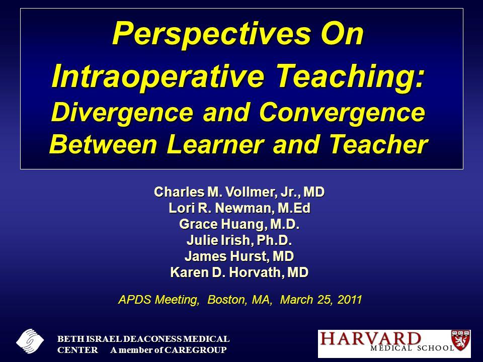 OR Teaching Effectiveness FacultyResidents Very Poor02% Poor3%17% Average23%39% Good49%30% Very Good27%11%