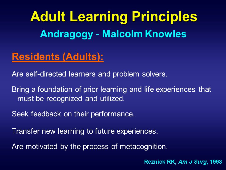 Is there a process of teaching in the operating room.
