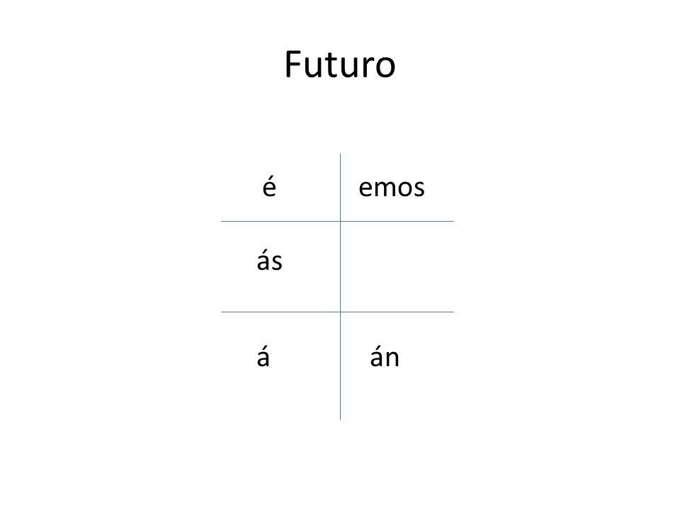 Futuro é án emos ás á
