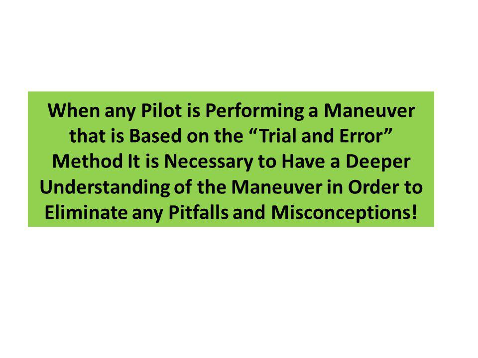 Objective of Seminar Provide you with the information you need to understand the limitations of the AIM recommendations for timing and wind correction in a holding pattern Develop a methodology to allow the pilot to get established in the correct holding pattern with a minimum number of circuits Develop a set of charts ( Holding Pattern Solution ) which tells the pilot what the exact inbound wind correction angle, outbound heading and outbound time should be to allow the aircraft to re-intercept the inbound course with a one minute inbound leg Use of the GPS to provide the Holding Pattern Solution to the pilot prior to turning outbound