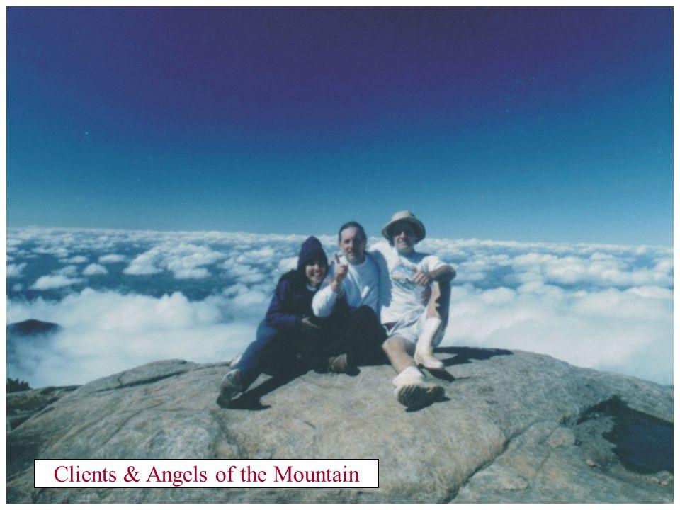 Peak of the Flag 2,892 m (9,543 feet)high