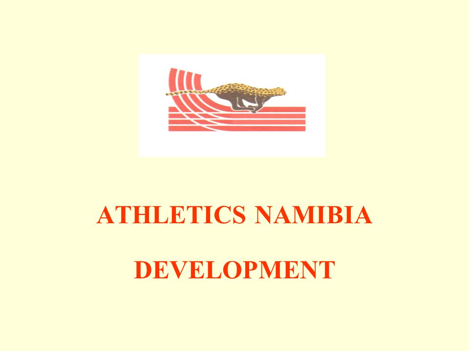 ATHLETICS NAMIBIA DEVELOPMENT