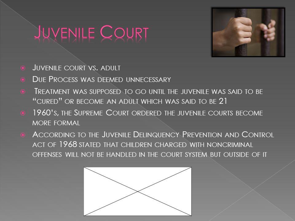  J UVENILE COURT VS.