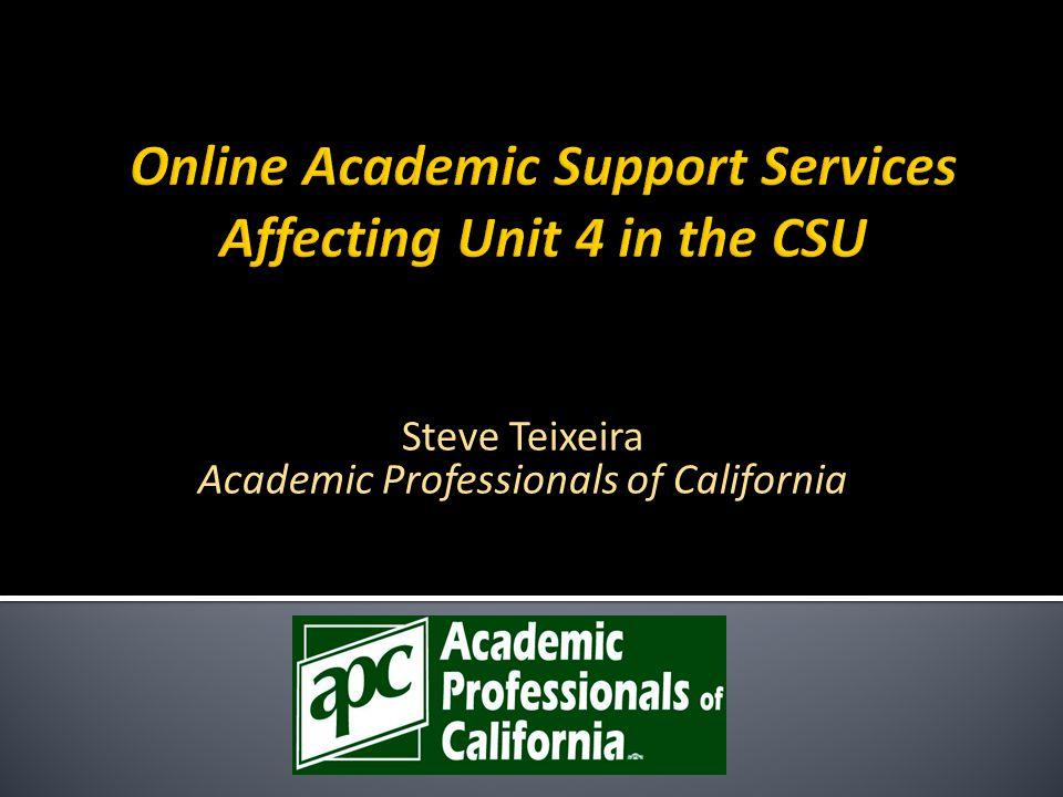 Steve Teixeira Academic Professionals of California