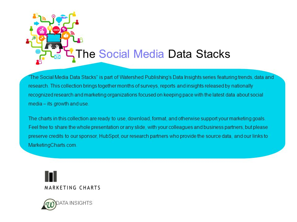 33 The Social Media Data Stacks Almost 30% of senior marketing executives engaging in social media monitoring incorporate the information into their communications strategy, according to data from WebLiquid and RSW/US.according to Customer service enhancements – ranging from automated search engine alerts to specific data queries and third-party research – followed at close to 20%.