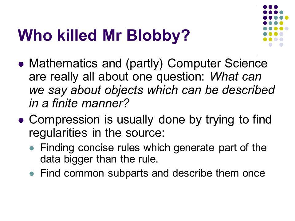 An Evaluation Problem (5, 50, 100 blobs)