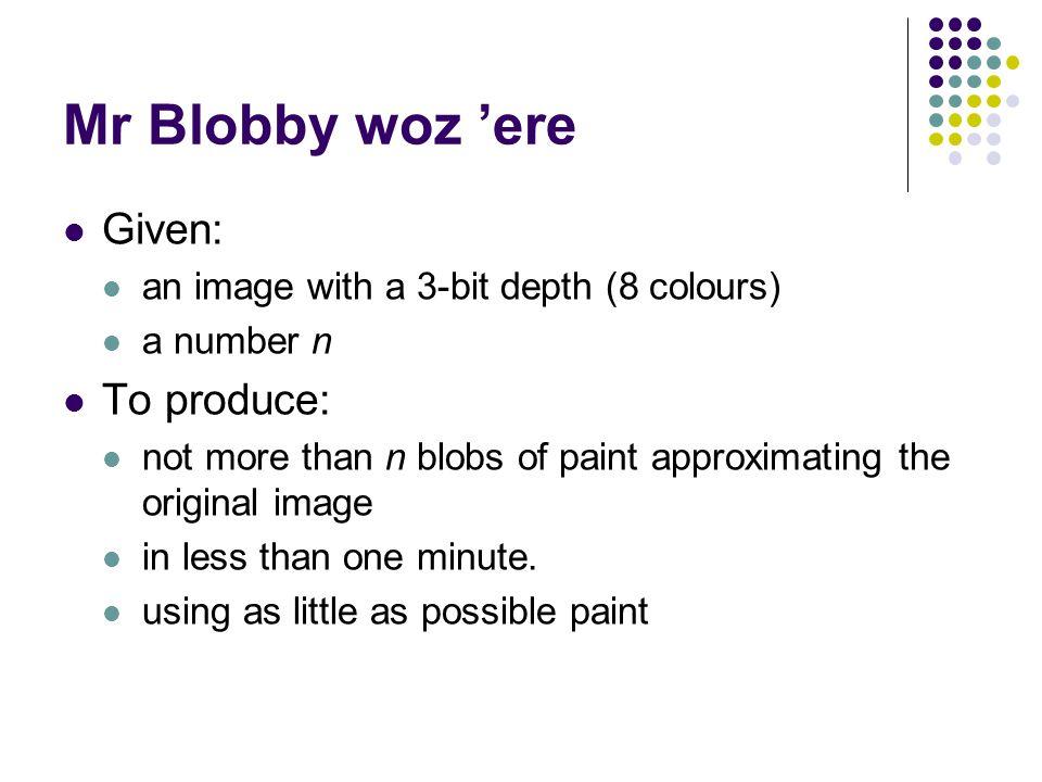 Guess the original image (1000 blobs)