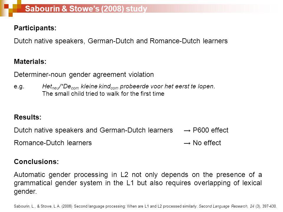 Do L1 gender agreement rules affect conceptual gender agreement production of L2 possessive pronouns.