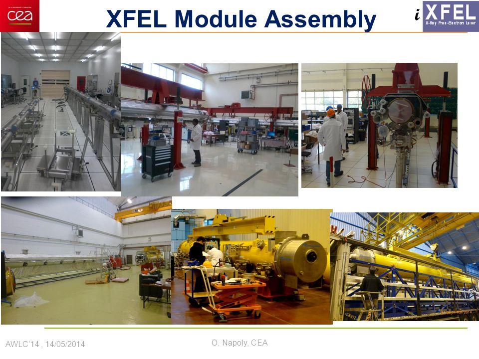 i XFEL Module Assembly AWLC'14, 14/05/2014 O. Napoly, CEA