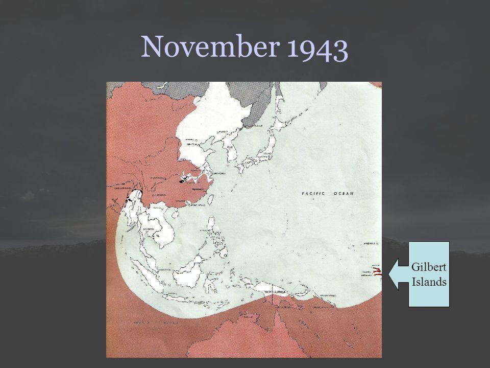 November 1943 Gilbert Islands